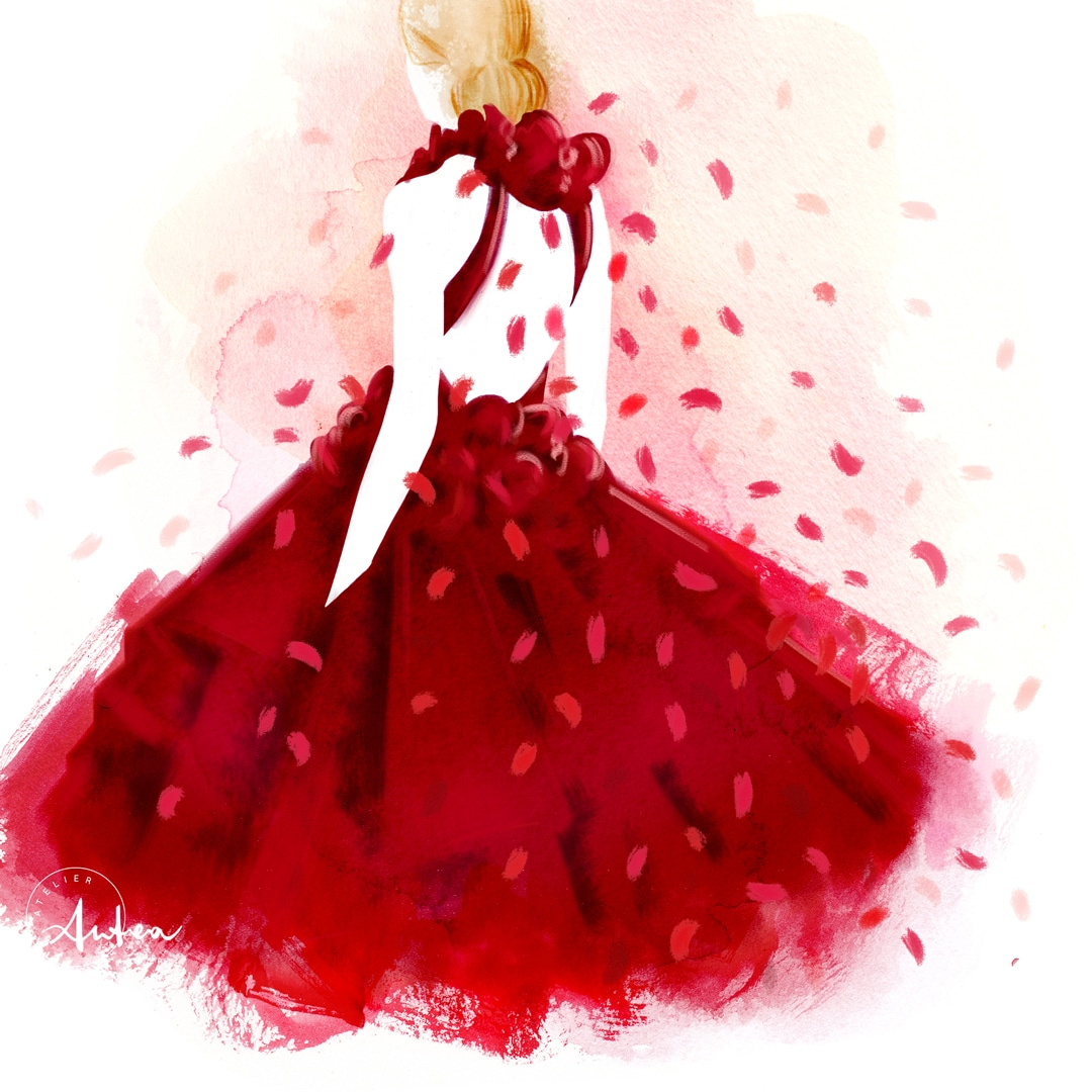 marchesa-fall-2016-illustration-by-camilla-locatelli